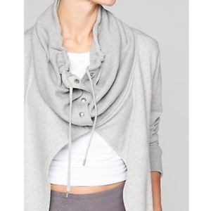 Athleta Wrappers Delight open front jacket size S